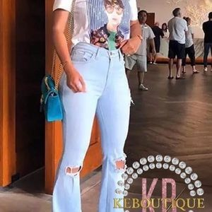 Tie dye short set/one piece or jeans